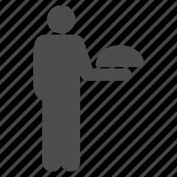 chef, garcon, restaurant, service, staff, steward, waiter icon