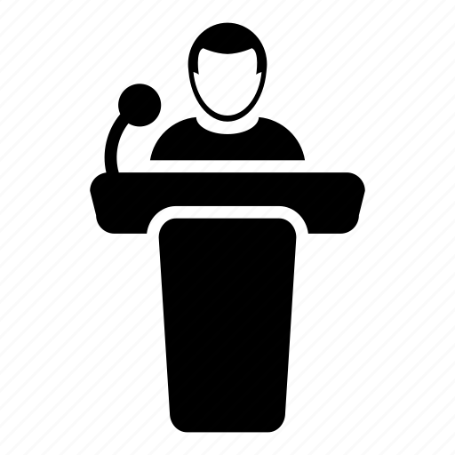 public speaker icon