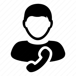 contact, man, phone, service, support, telephone, user icon