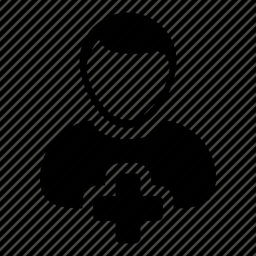 account, add, man, new, person, plus, user icon