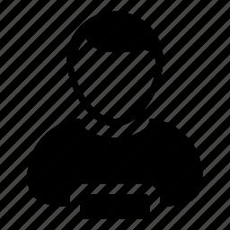 account, human, man, person, profile, remove, user icon