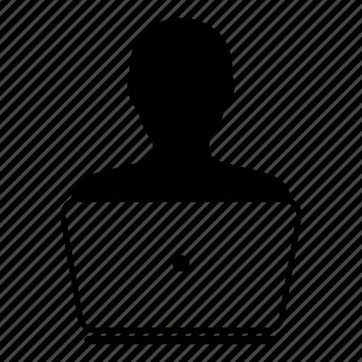 admin, computer, laptop, person, user icon