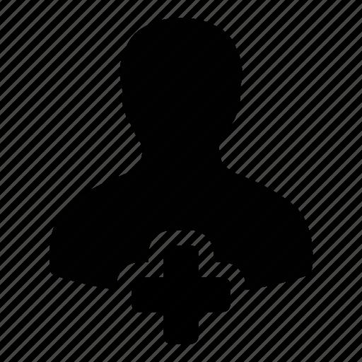 account, add, human, new, plus, profile, user icon