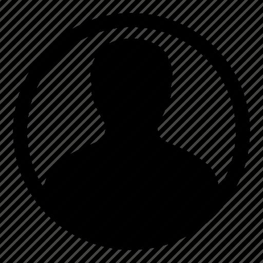 avatar, human, man, person, profile, user icon