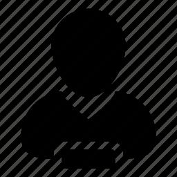 account, avatar, delete, man, person, remove, user icon