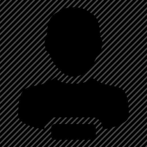 avatar, delete, man, person, profile, remove, user icon