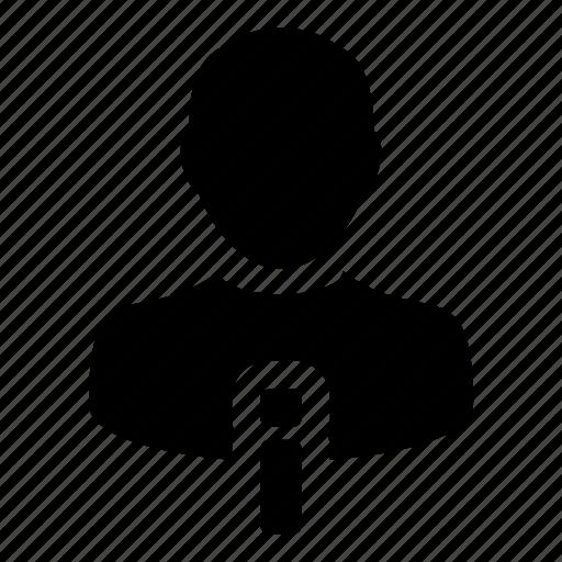 avatar, info, information, man, profile, resume, user icon