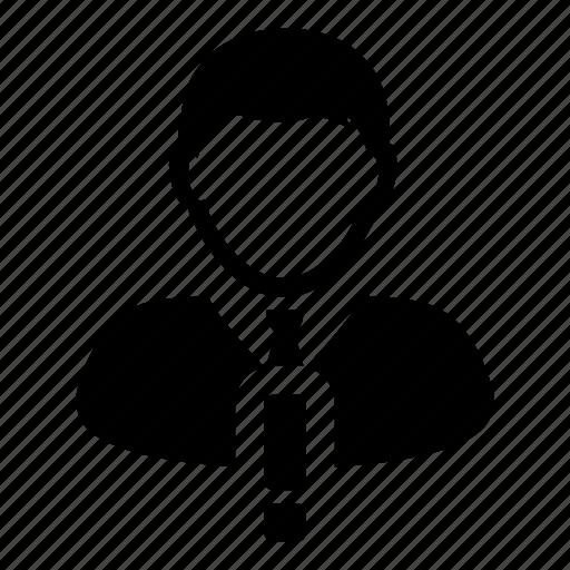 alert, avatar, business, man, person, user, warning icon