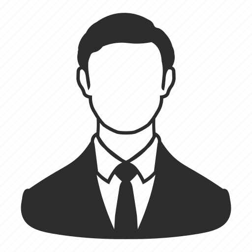 avatar, business, employee, male, profile, salesperson, user icon