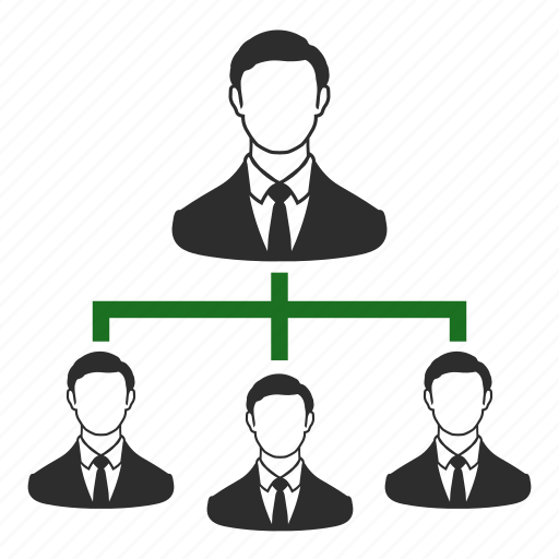 boss, business, employees, formation, hierarchy, marketing, structure icon