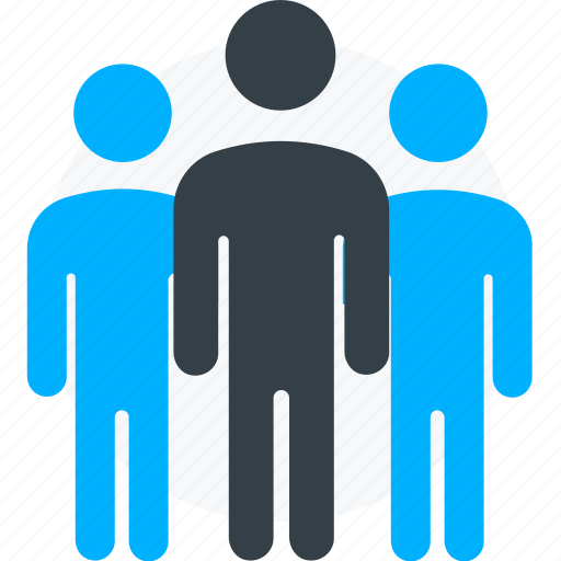 company, conference, customers, social group, staff, team, users icon icon
