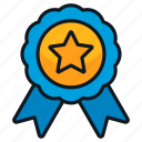award, medal, reward, ribbon, win
