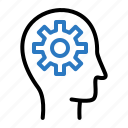 gear, setting, user icon
