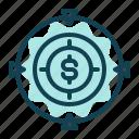 costumer, focus, management, money, sales, target