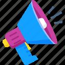 advertising, marketing, megaphone, promotion, sale