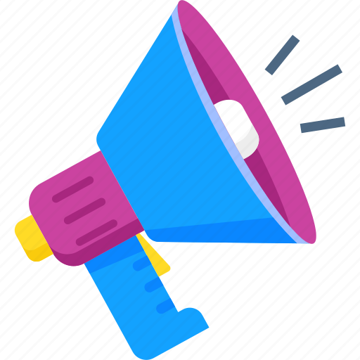 advertising, marketing, megaphone, promotion, sale icon