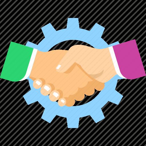 agreement, contract, deal, handshake, partnership icon