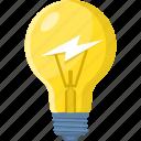 light, idea, creative, campaigns, lamp, bulb icon