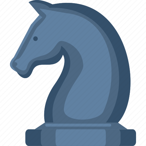 business, chess, horse, marketing, strategy icon