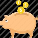 bank, cash, discount, money, piggy, save money
