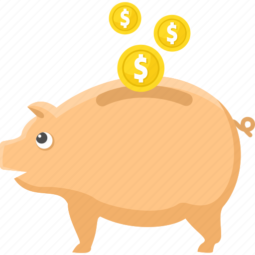bank, cash, discount, money, piggy, save money icon