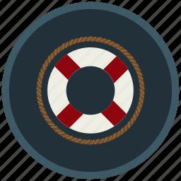 helpful, irreplaceable, lifebuoy, obliging, safe icon