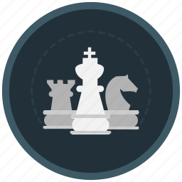 chess, game, generalship, logic, resources, strategy icon