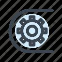 industrial, process, conveyor, gear