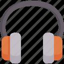 ear, headphone, headset, listen, music