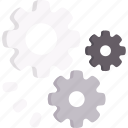 configuration, gear, setting, settings