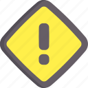 alert, caution, danger, warning