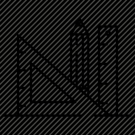 product design, ruler, web design icon