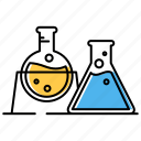experiment, laboratory, tubes icon