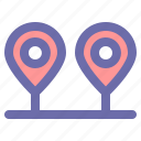 gps, map, pin, location, transition icon