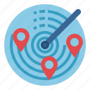 location, maps, pin, place, positional, radar, technology