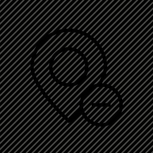 location remove, location001, pin, remove, remove location, remove marker, remove pin icon