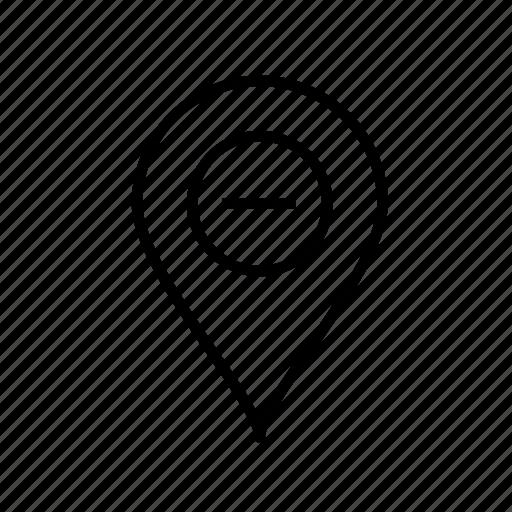 location remove, location002, pin, remove, remove location, remove marker, remove pin icon