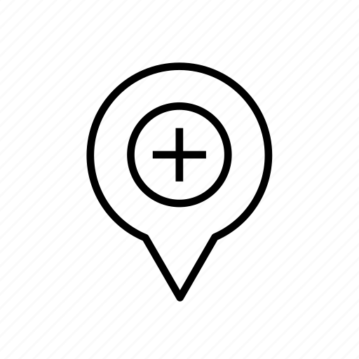 add, add location, add marker, add pin, location add, location005, pin icon