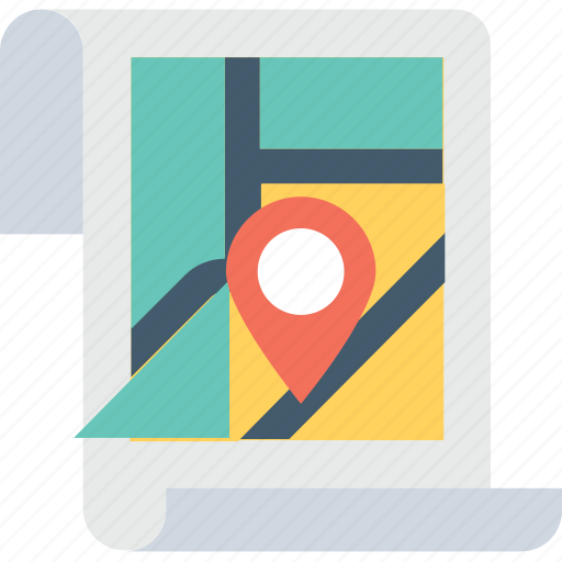 gps, map, navigation, pin, placeholder icon