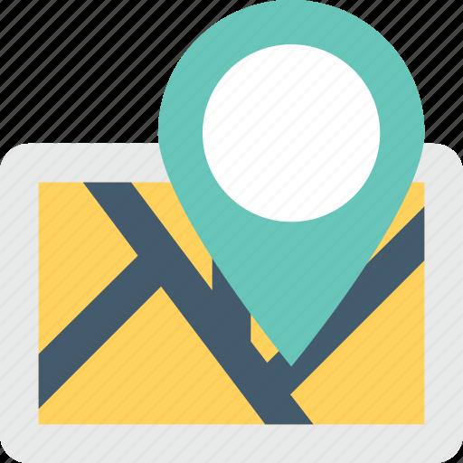 gps, location, map, map locator, navigation icon