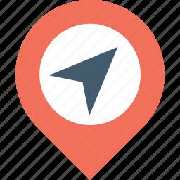 gps, gps pin, location, map pin, pin icon