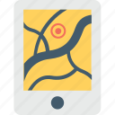 gps, gps device, gps tracker, navigation, navigation device icon
