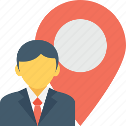 find person, geolocalization, location pin, map locator, user location icon