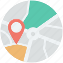 global location, gps, map pointer, navigation, world map icon