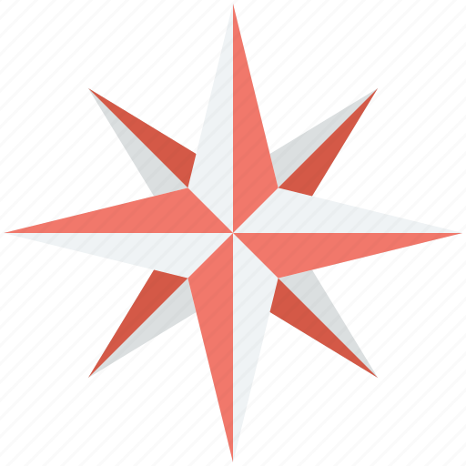 cartography, compass rose, exploration, navigational instrument, wind rose icon