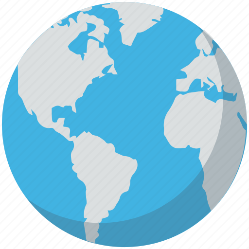 Earth, geography, globe, map, world map icon - Download on Iconfinder