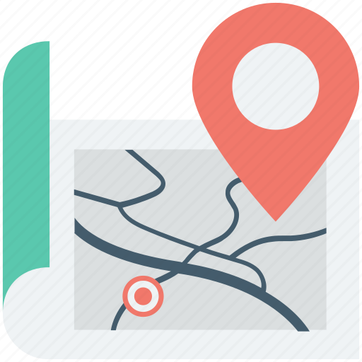 gps, location, map, marker pin, navigation icon
