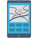 cartography, city map, mobile navigation, online map, smart phone