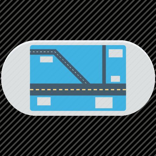 gps, gps device, gps tracker, handheld, navigation device icon