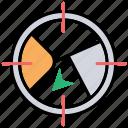geolocation target, geomarketing, geotargeting, location based marketing, location target icon